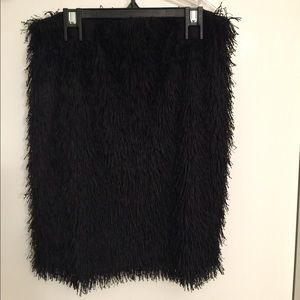 Fringes Mini skirt